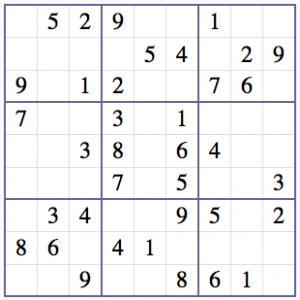 Sudokun Ratkaiseminen